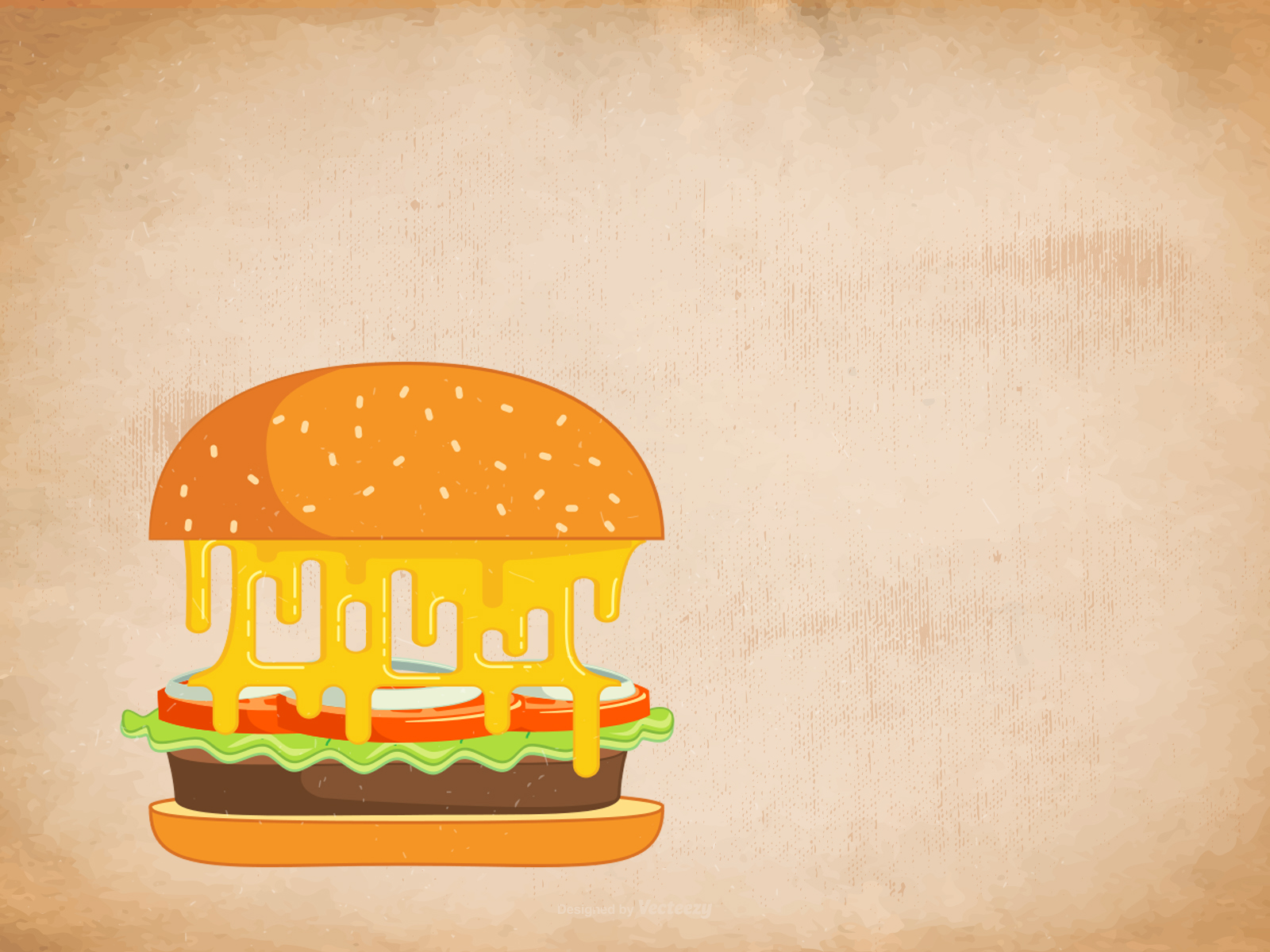 Fast Food Backgrounds Foods Drinks Orange Pink Yellow
