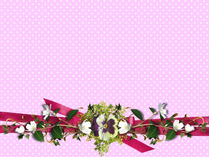 Flowers Paper PPT Backgrounds