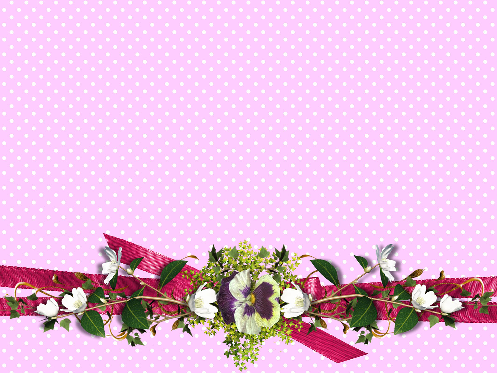 Flowers Paper Powerpoint Backgrounds