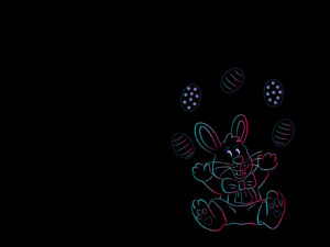 Happy Easter Bunny Backgrounds