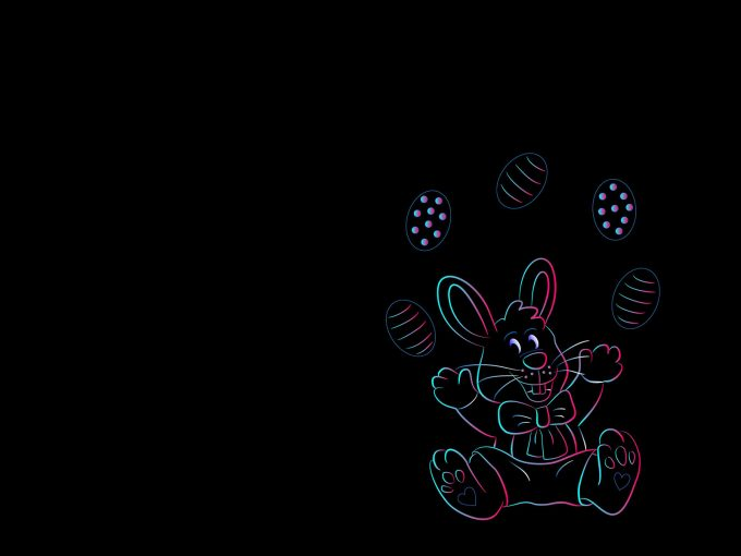Happy Easter PPT Backgrounds
