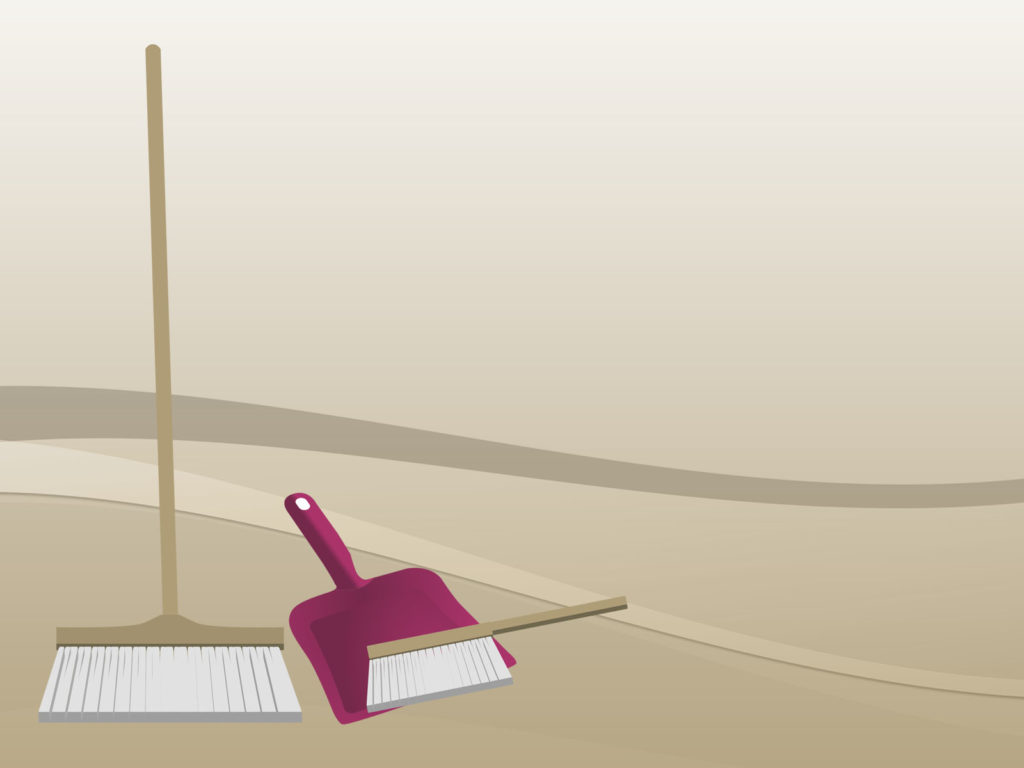 house cleaning backgrounds brown pink tools and devices ppt medium size preview 1024x768px house cleaning backgrounds