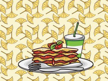 Lasagna Plate