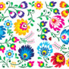 Mix Flowers PPT Backgrounds