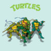 Ninja Turtles PPT Backgrounds