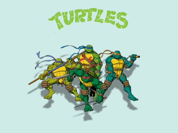 Ninja Turtles PPT Backgrounds
