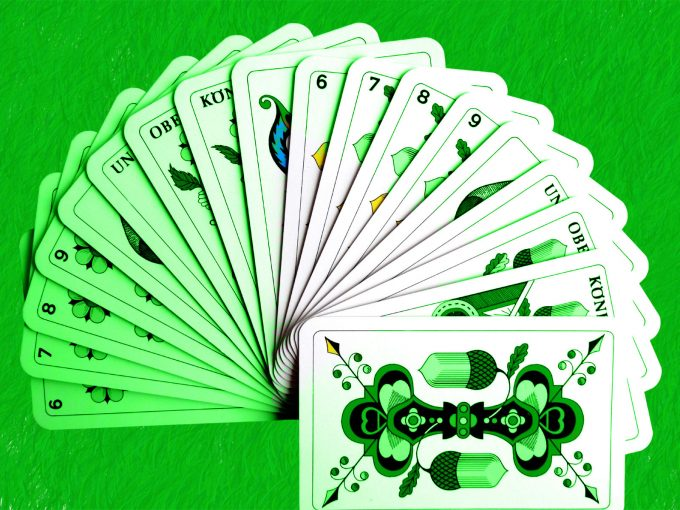 Playing Cards PPT Backgrounds