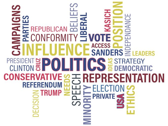 Politics Terms PPT Backgrounds