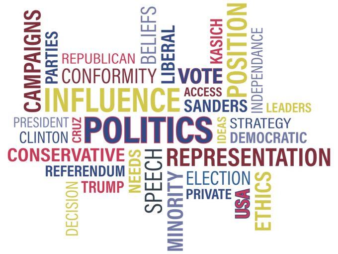 Politics Terms PPT Backgrounds