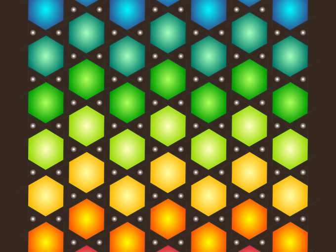 Polygon Colorful PPT Backgrounds