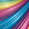 Rainbow Pattern PPT Backgrounds