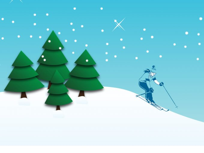 Snowboarding PPT Backgrounds