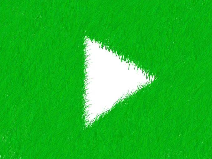 Social Grass PPT Backgrounds
