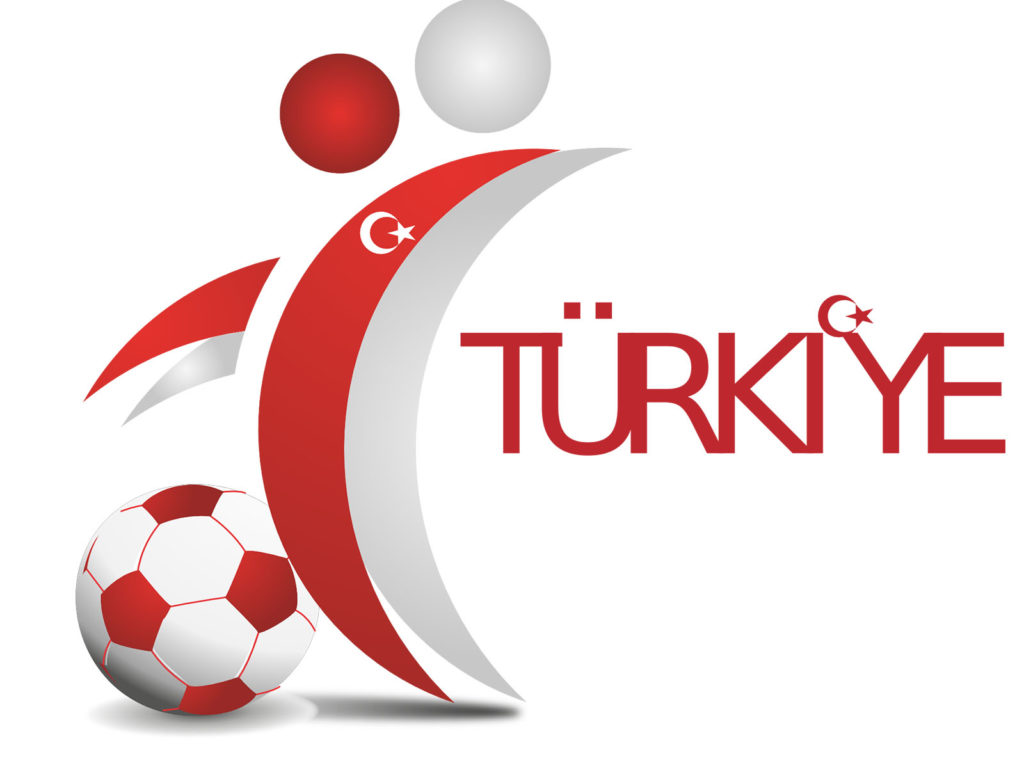 Turkey Football Organization Backgrounds Red Sports White