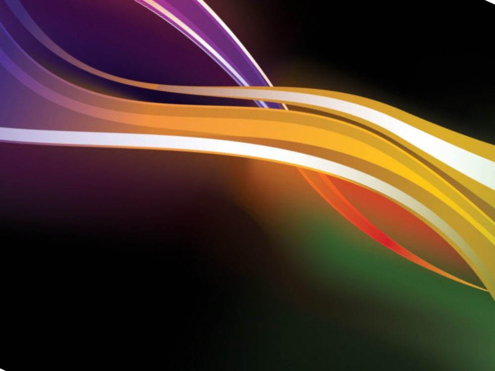 Waves in Colors Powerpoint Backgrounds