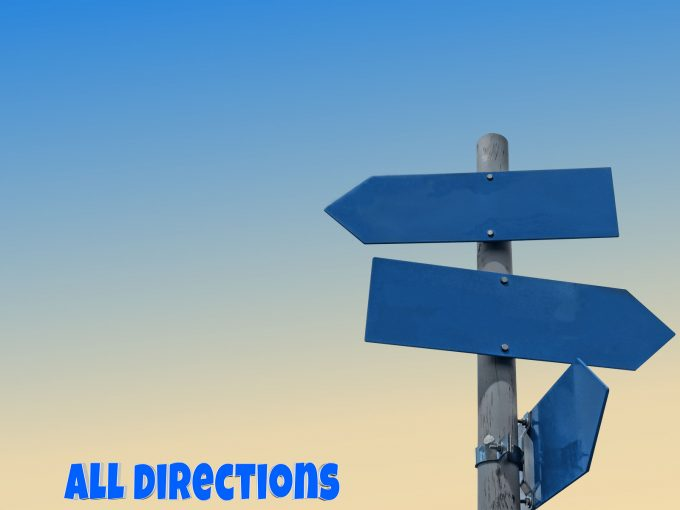All Directions PPT Backgrounds