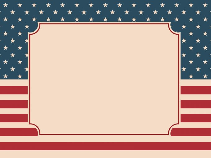 American Nation Flag PPT Backgrounds