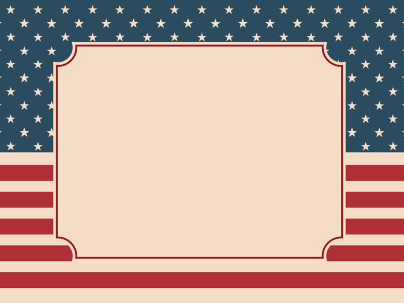 American Nation Flag Backgrounds