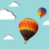 Balloon Tourism Powerpoint Templates