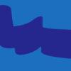 Blue Ribbon Wave Pattern Powerpoint Backgrounds