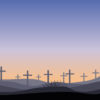 Christian Cemetery Powerpoint Backgrounds