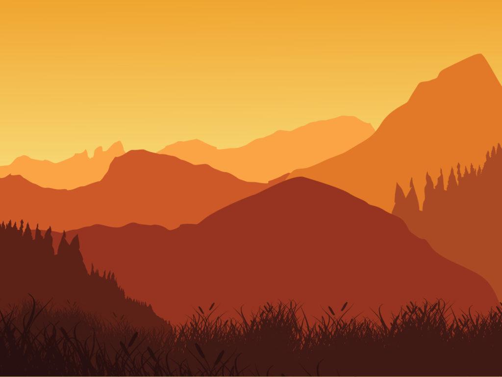 mountain powerpoint background