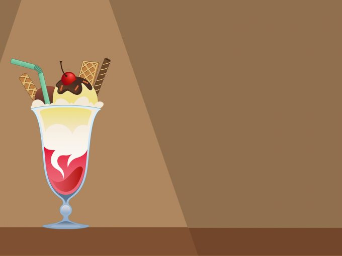 Delicious Ice Cream PPT Backgrounds