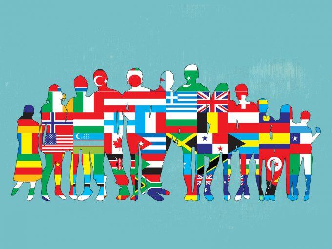 Friendship World PPT Backgrounds