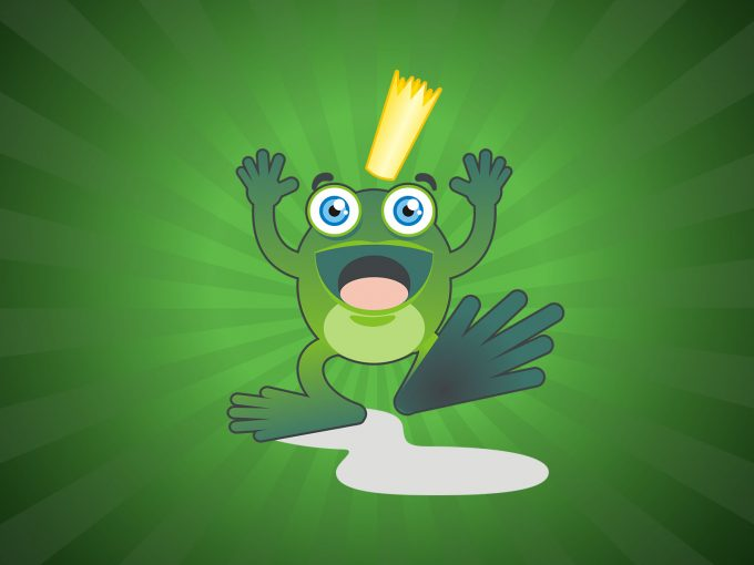 Frog Prince PPT Backgrounds