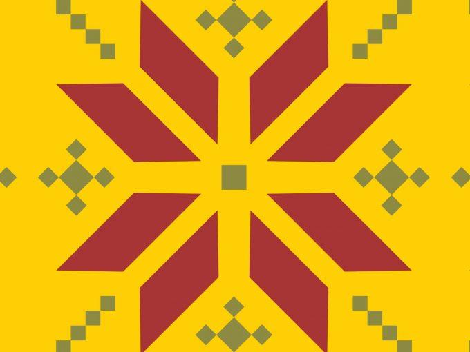 Hexagon Pattern PPT Backgrounds