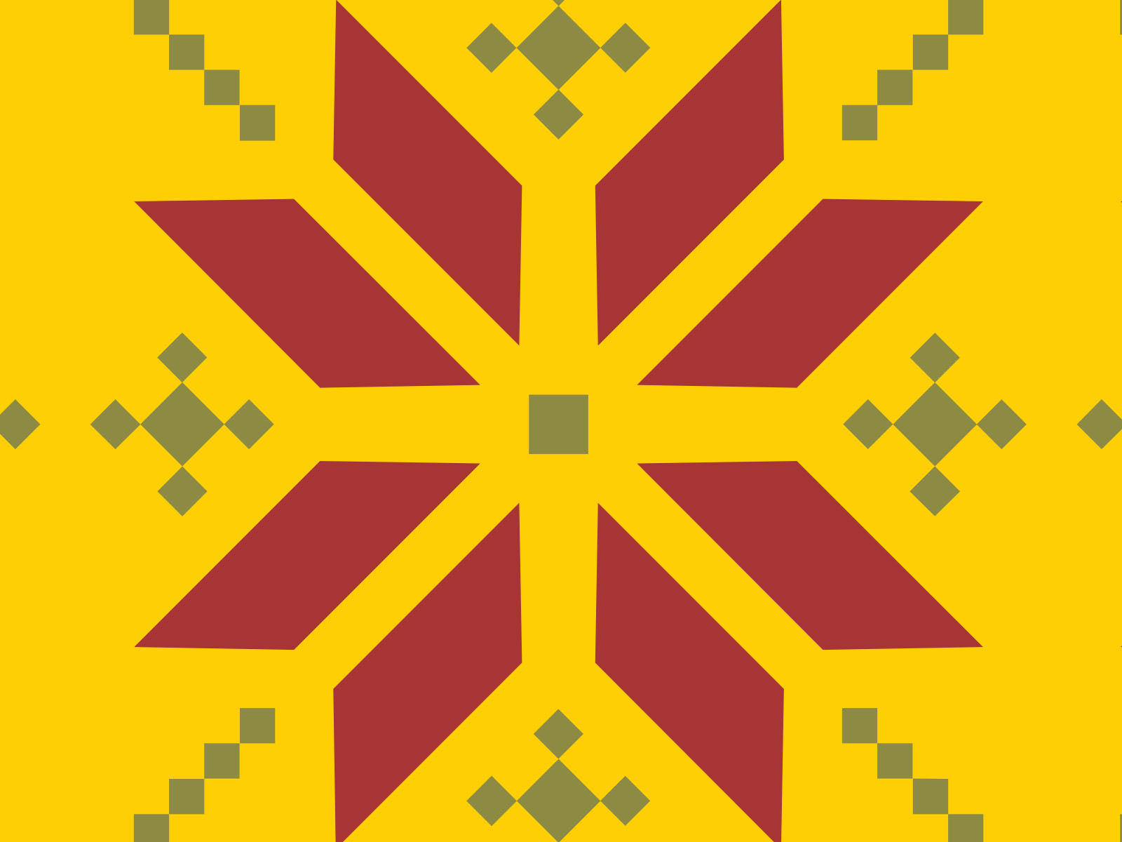Hexagon Pattern Powerpoint Backgrounds