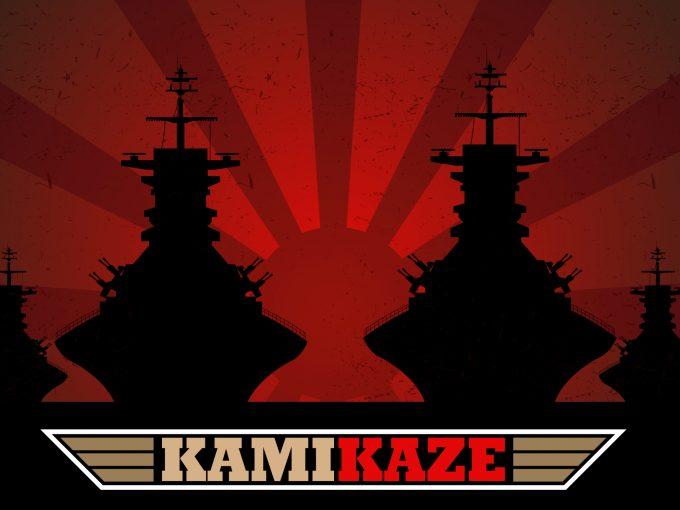 Kamikaze Attack PPT Backgrounds