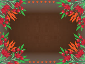 Orange Flowers Backgrounds