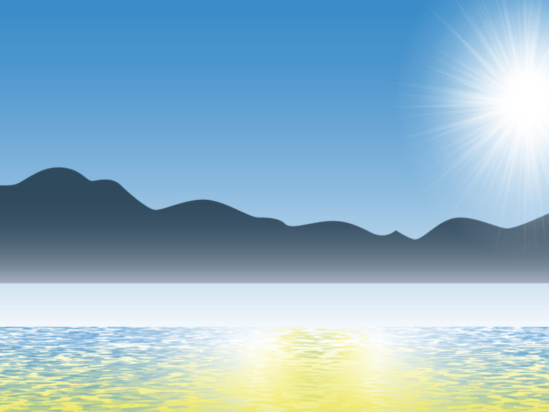 Wonderful Ocean PPT Backgrounds