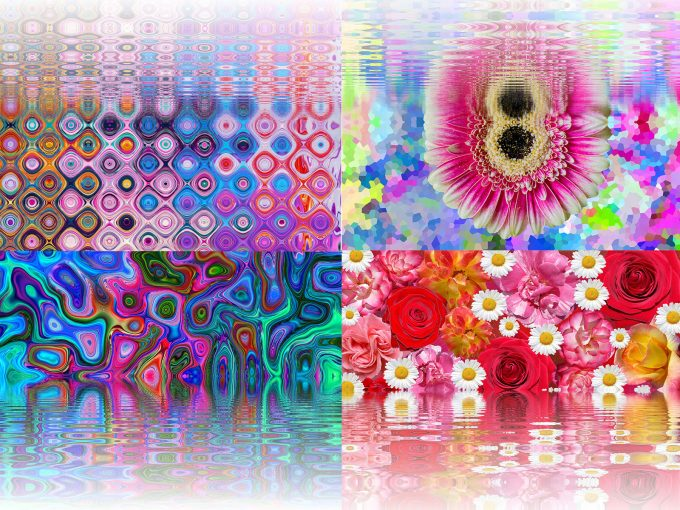 Art of Ebru PPT Backgrounds