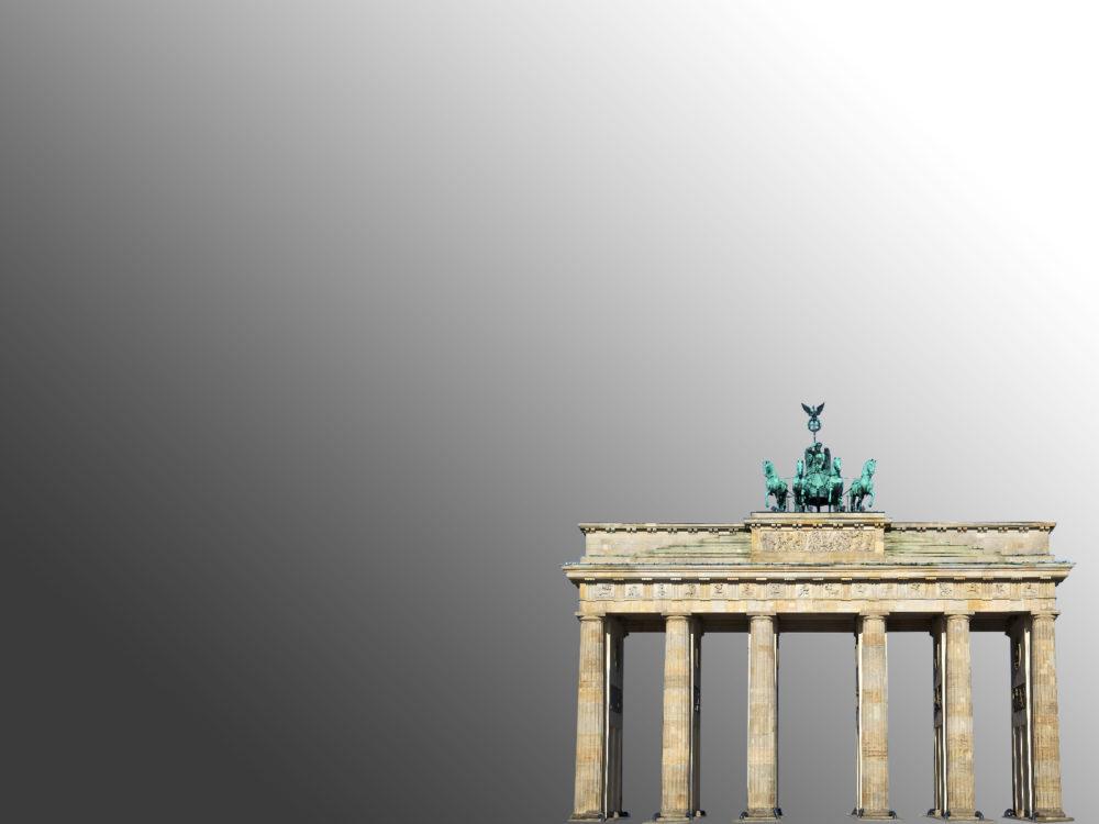 Brandenburg Gate Powerpoint Background