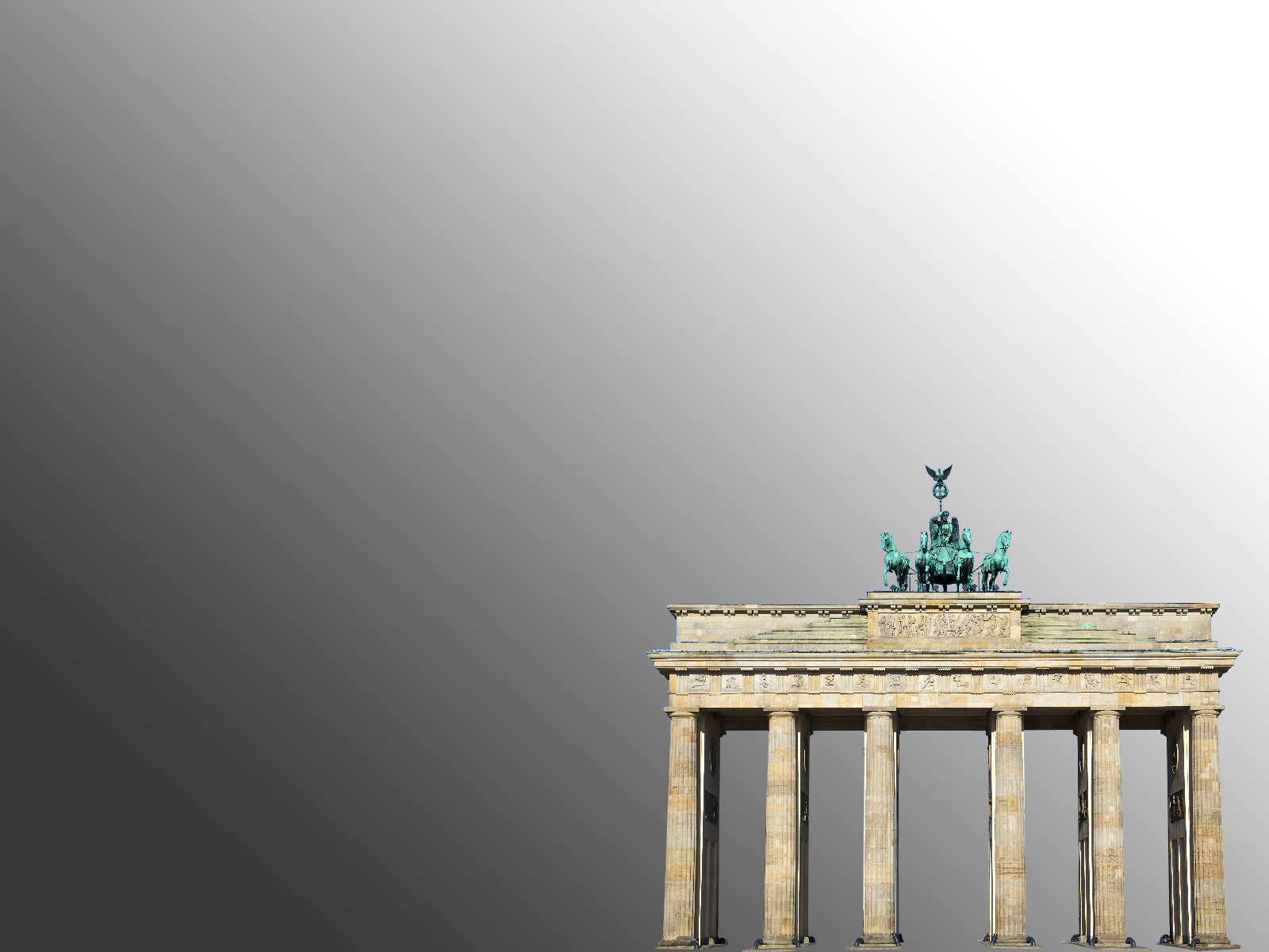Brandenburg Gate Powerpoint Background