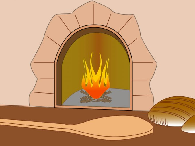 Bread Furnace PPT Backgrounds