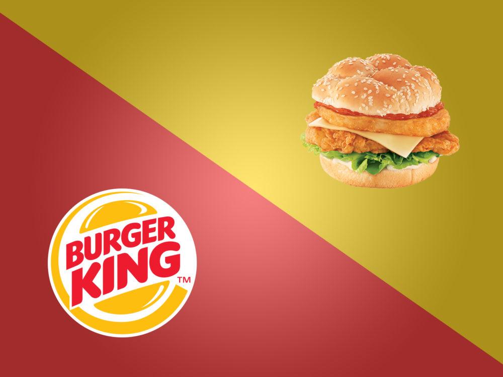 Burger king brand ppt backgrounds foods drinks templates ppt normal resolution toneelgroepblik Images