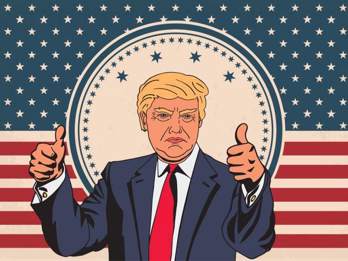 Donald Trump PPT Backgrounds