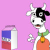 Milk and Cow Powerpoint Backgrounds