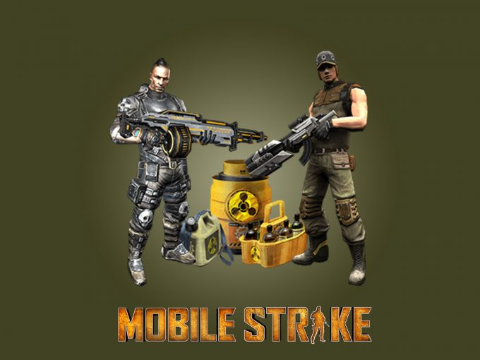 Mobile Strikes PPT Backgrounds
