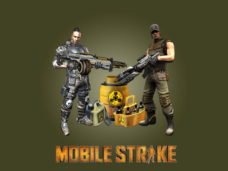 Mobile Strikes Powerpoint Backgrounds