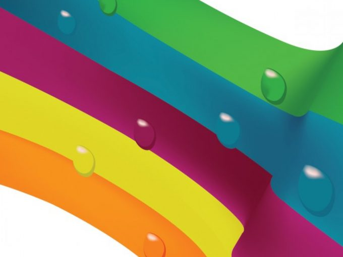 Nice Rainbow PPT Backgrounds