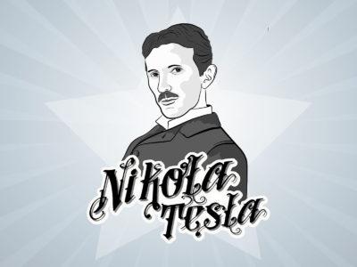 Nicola Tesla Powerpoint Backgrounds