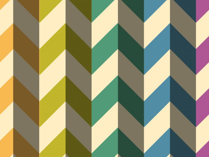 Rainbow Arrows PPT Backgrounds