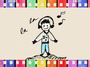 Children Music Box Powerpoint Background