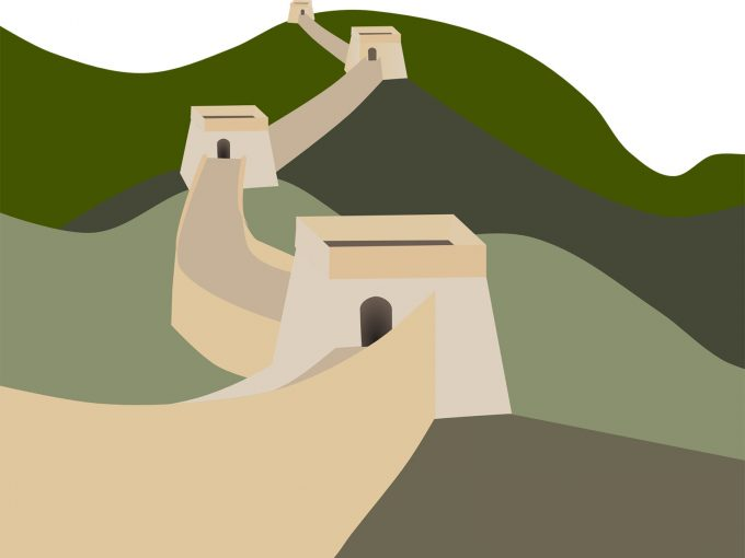The Great Wall PPT Backgrounds