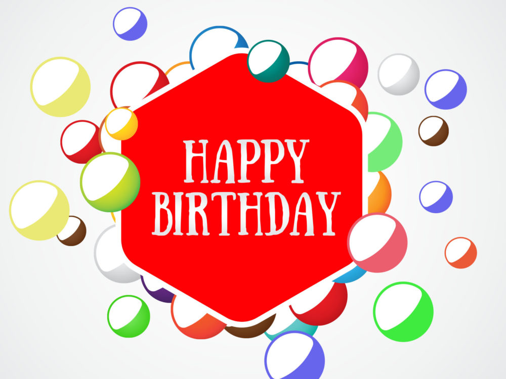Completely Satisfied Birthday Wallpapers: Happy Birthday Backgrounds