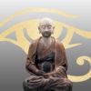 Ancient Buddha Sculpture Powerpoint Templates